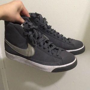 Gray Nike Blazer Sneakers